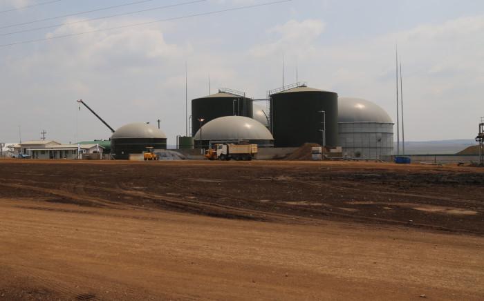 The Bio2Watt energy plant in Bronkhorstspruit.  Picture: Christa Eybers/EWN.