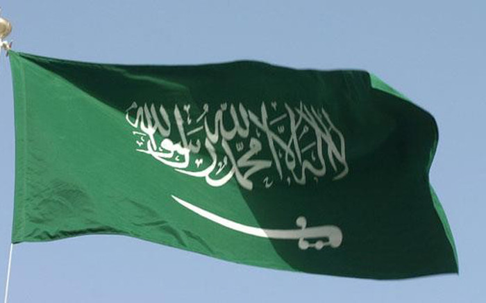 Saudi Arabian flag. Picture: Facebook.