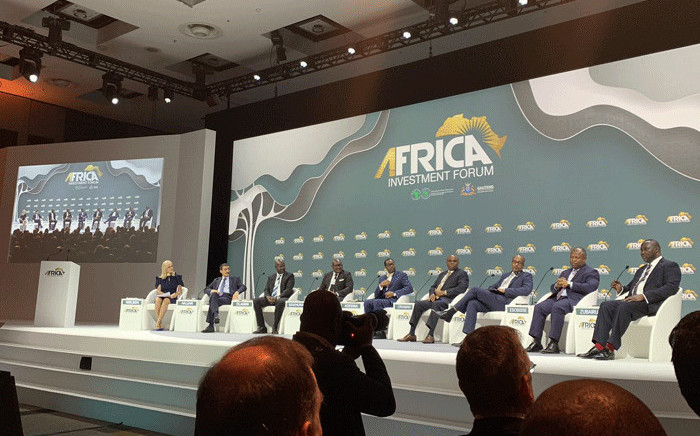Delegates at the World Africa Investment Forum in Johannesburg on 7 November 2018. Picture: @africa_finance/Twitter