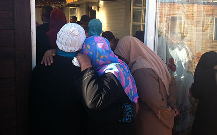 Junaid McKenzie was laid to rest on 28 June 2012 after she was shot dead in gang crossfire. Picture: Nathan Adams/EWN