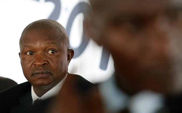Deputy President David Mabuza speaking at a Human Rights Day event in Sharpeville. Picture: Sethembiso Zulu/EWN
