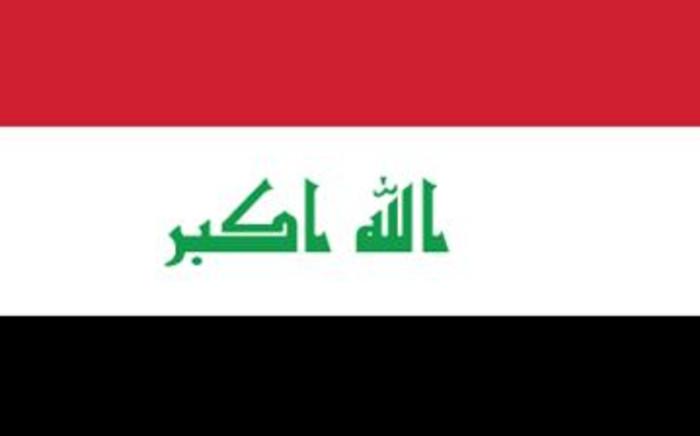 FILE: Iraqi flag. Picture: