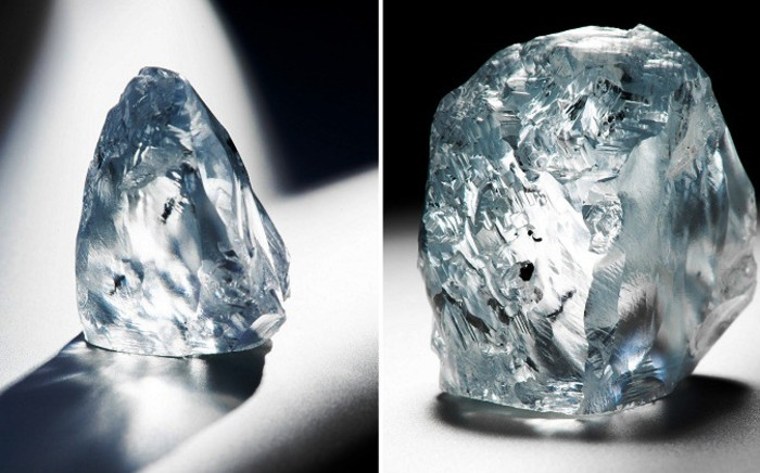 """FILE: Gem Diamonds Ltd said it has recovered a 198-carat white diamond from its flagship mine in Lesotho that should fetch """"an exceptional price"""" when sold this year. Picture: Supplied."""