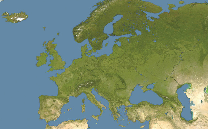 A map of Europe. Picture: Pixabay.com