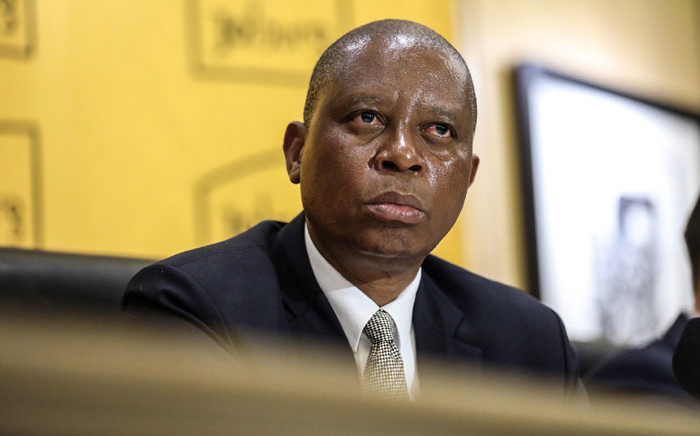 City of Johannesburg Mayor Herman Mashaba during a media briefing on 9 April 2019. Picture: Abigail Javier/EWN