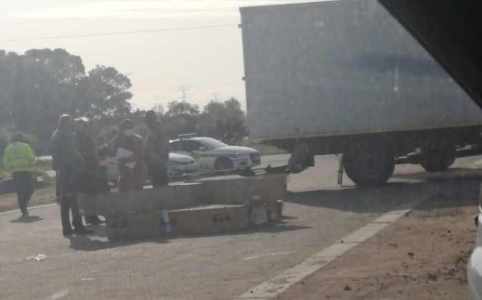 Health authorities are investigating the discovery of 106 corpses being transported along the N2 highway near Somerset West. Picture: Zain Johnson/Eyewitness News.