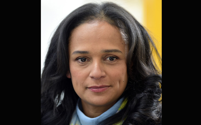 Angolan businesswoman Isabel dos Santos visits the new started EFACEC Portuguese corporation's electric mobility industrial unit on 5 February 2018 in Maia. Picture: AFP