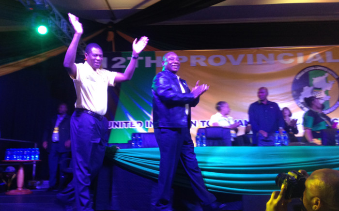 FILE: Mashatile and his provincial top five were re-elected with the only new entry being former health MEC Hope Papo. Govan Whittles/EWN.