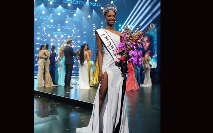 Zozibini Tunzi is crowned Miss SA 2019. Picture: Miss South Africa.