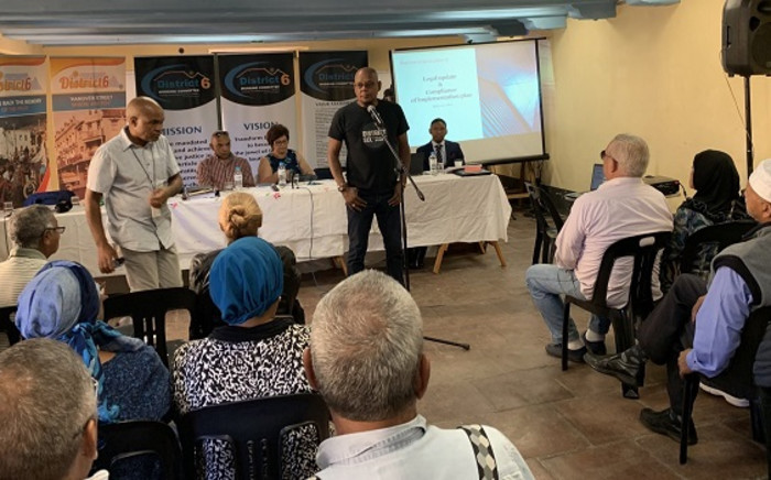 This plan includes the layout for the redevelopment of the community, including 954 housing units to be allocated to individual claimants. Picture: Kaylynn Palm/EWN