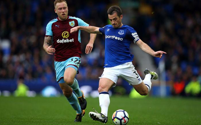 FILE: Everton's Leighton Baines (R). Picture; @Everton.