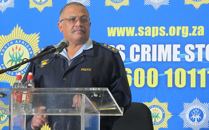 Western Cape Police Commissioner Arno Lamoer. Picture: Chanel September/EWN
