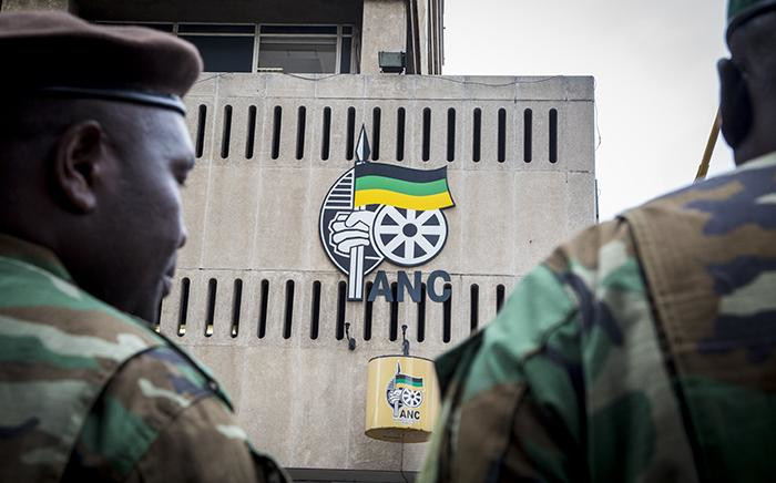 FILE: The ANC's Chief Albert Luthuli House headquarters in Johannesburg's CBD in a show of solidarity with President Jacob Zuma on 7 April 2017. Picture: EWN