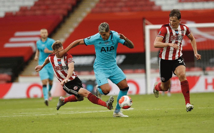 Tottenham Hotspur lost 3-1 to Sheffield United in the Premier League match on 2 July 2020. Picture: @SheffieldUnited/Twitter.