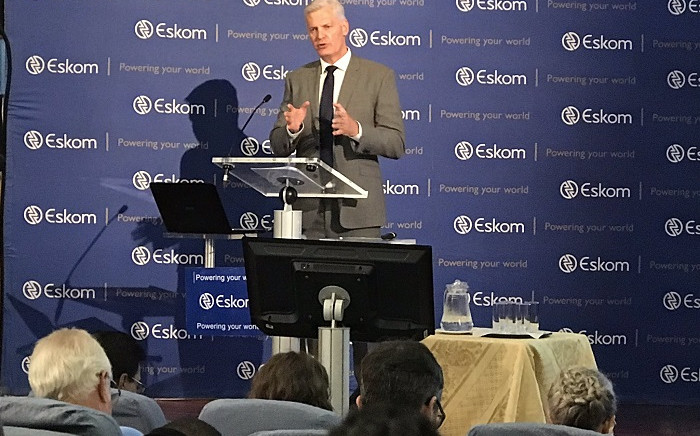 New Eskom CEO Andre de Ruyter at a briefing at Megawatt Park on 31 January 2020. Picture: Bonga Dlulane/EWN