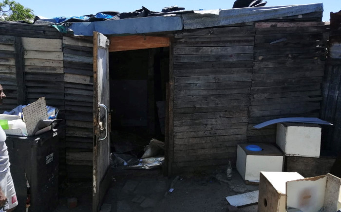 Ward councillor Angus Mckenzie, who visited the home of the baby in Bonteheuwel. Picture: Supplied.