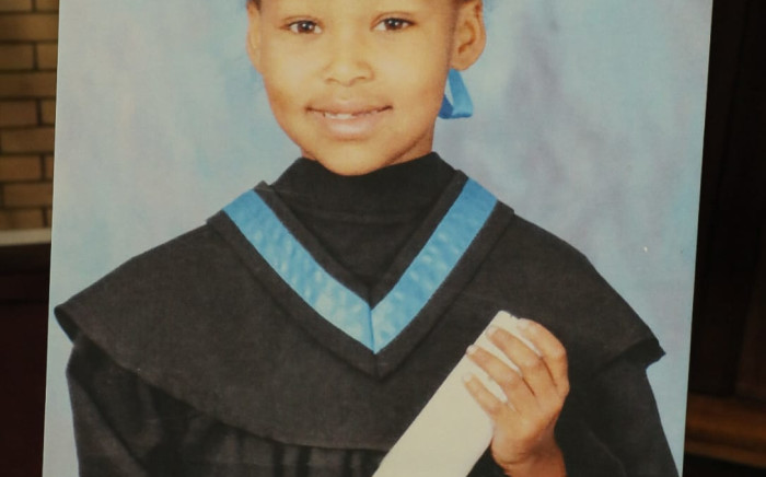 Eight-year-old Tazne Van Wyk from Elsies River was kidnapped and murdered in February 2020. Picture: Twitter/@SAPoliceService.