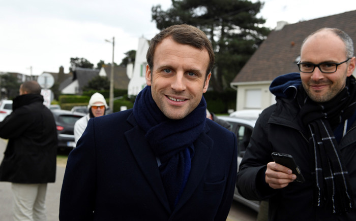 French presidential election candidate for the En Marche ! movement Emmanuel Macron. Picture: AFP