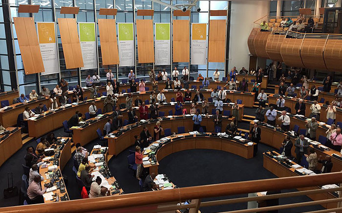 A council meeting was dominated by accusations of racism between DA and ANC councillors on 28 January 2015. Picture: Xolani Koyana/EWN.
