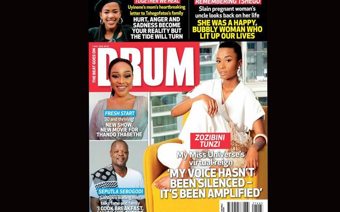 Drum Magazine. Picture: @DrumMag.