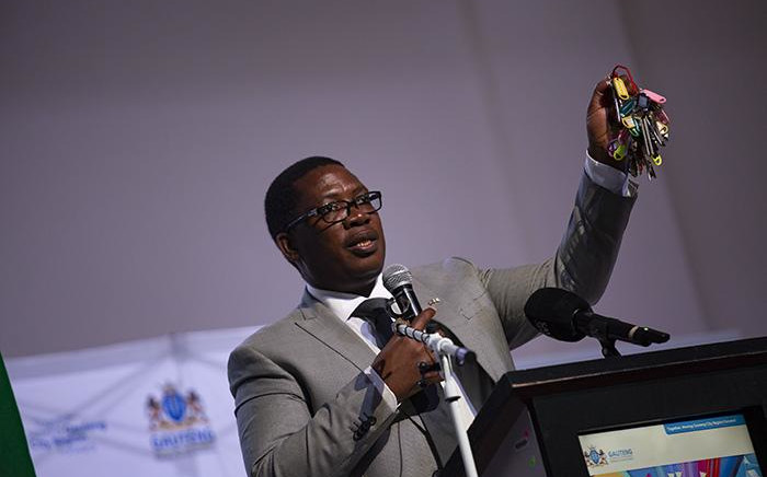 FILE: Gauteng Education MEC Panyaza Lesufi. Picture: Kayleen Morgan/EWN.