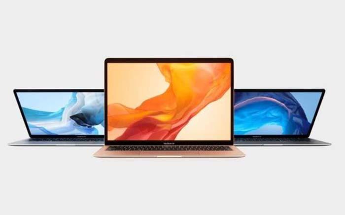 The new Apple Macbook Air laptop. Picture: Apple.com