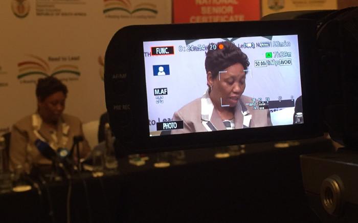 FILE. Basic Education Minister Angie Motshekga. Picture: Vumani Mkhize/EWN.