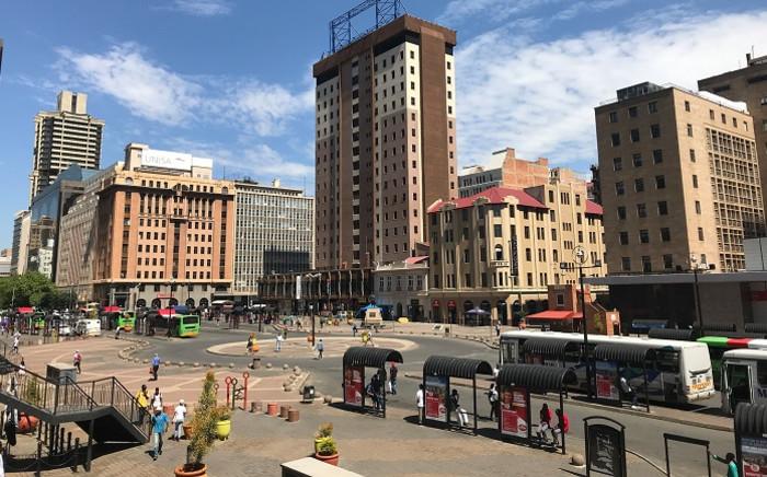 Gandhi Square, Johannesburg. Picture: Gandhi Square Precinct/Facebook.