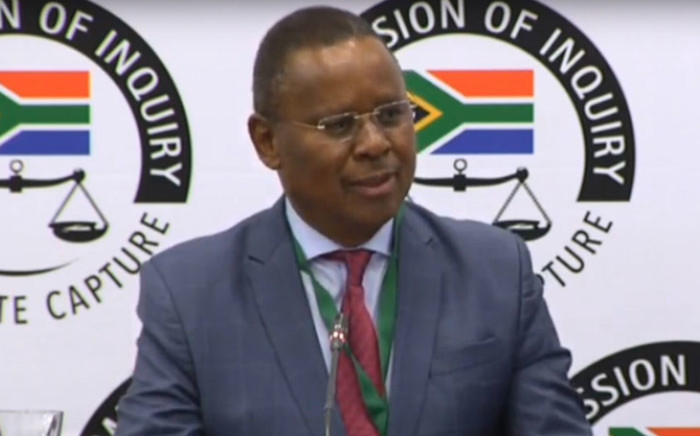 A screengrab of Reverend Frank Chikane appearing at the Zondo commission of inquiry into state capture on 19 November 2019.