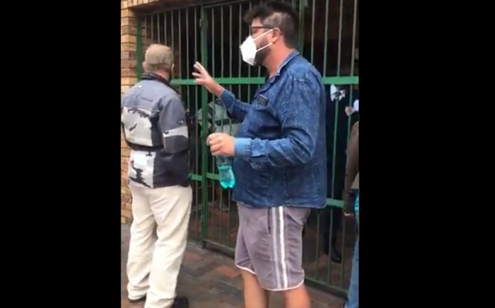 FILE: Craig Peiser accused of assaulting a reporter at a beach protest appeared in the Simonstown Magistrates' Court on Monday. Picture: Lizell Persens/EWN.