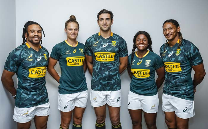 Castle Free is the new sponsor of the Blitzboks Men's and Women's teams. Picture: Supplied