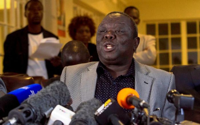 FILE: MDC leader Morgan Tsvangirai. Picture: EPA.
