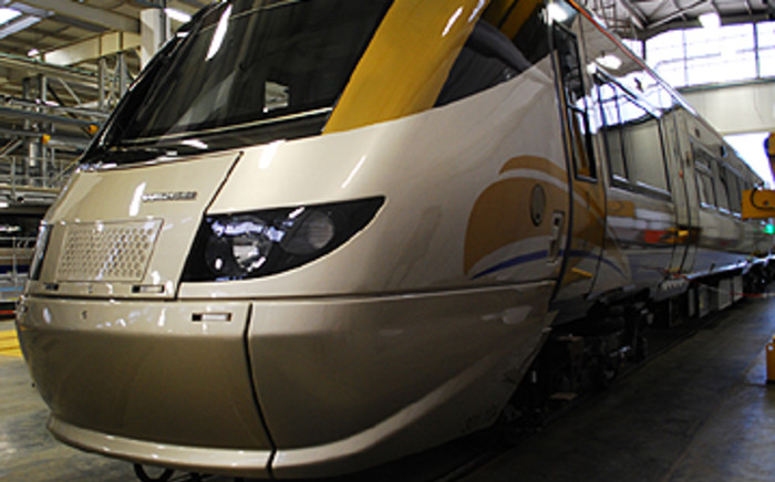 A Gautrain coach parked at the Midrand Depot. Picture: EWN