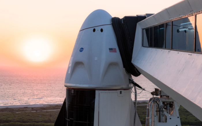 """On Thursday 22 April 2021, SpaceX tweeted: """"All systems and weather are looking good for Falcon 9's launch of Dragon with four astronauts on board."""" Picture: Twitter/@SpaceX"""