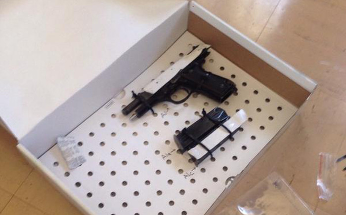 Authorities reportedly confiscated a pepper spray gun, a knife, 10 cellphones and a memory stick inside Radovan Krejcir's cell on 26 September 2015. Picture:@Solomon_Makgale