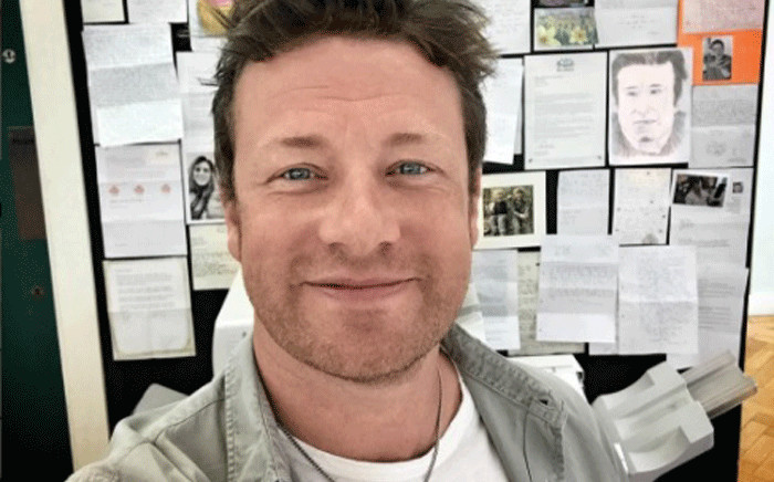 British celebrity chef Jamie Oliver. Picture: instagram.com