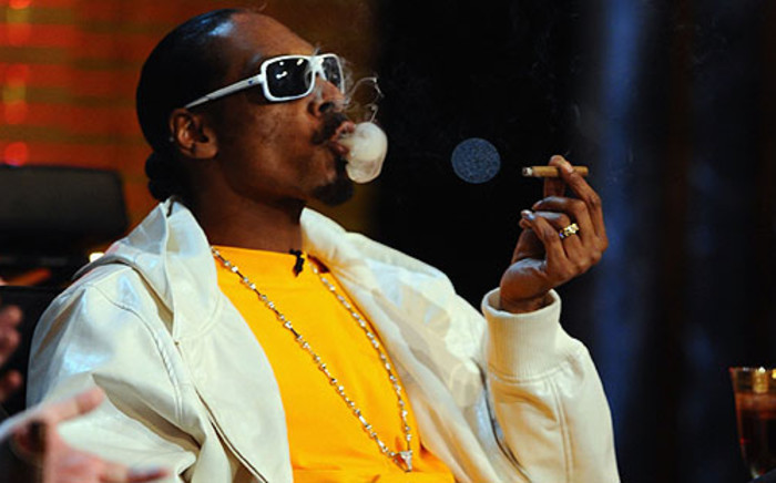 American rapper Snoop Dogg. Picture: AFP