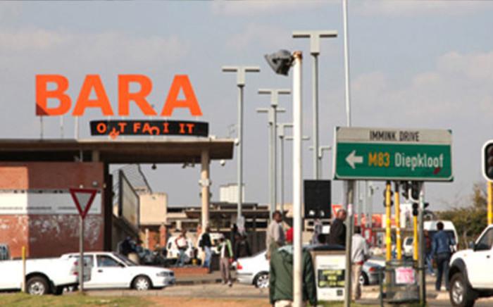 A screengrab of the Chris Hani Baragwanath Hospital in Johannesburg.