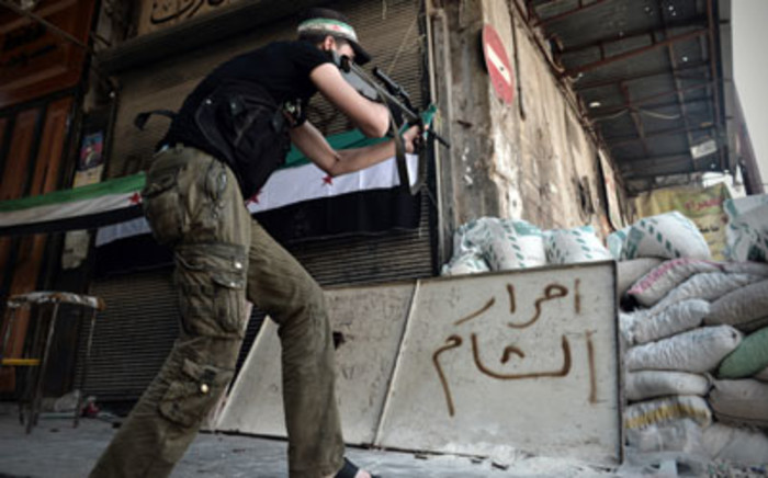 Syrian rebels continue their fight to keep control of Damascus as the anti-government revolt continues. Picture: AFP.