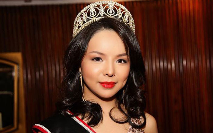 Canada's China-born Miss World contestant Anastasia Lin. Picture: Anastasia Lin Facebook Page.