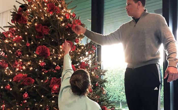 Jennifer Lopez and Alex Rodriguez. Picture: Instagram.