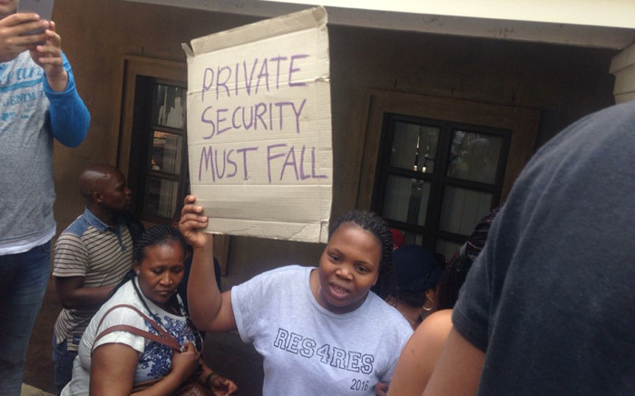 Students protesting University of Cape Town have vowed to continue shutting down lectures until their demands are met. Picture: Shamiela Fisher/EWN.