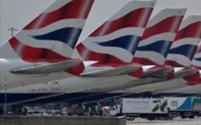 FILE: British Airways planes. Picture: AFP.