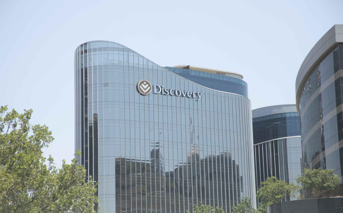 FILE: Discovery Group offices in Sandton. Picture: Abigail Javier/EWN.
