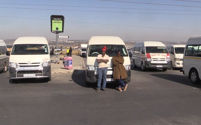 FILE: Thousands of motorists were stranded around Gauteng when key routes were blocked by protesting taxi drivers. Picture: EWN