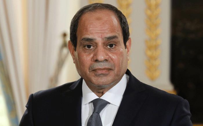FILE: Abdel Fattah al-Sisi. Picture: AFP.