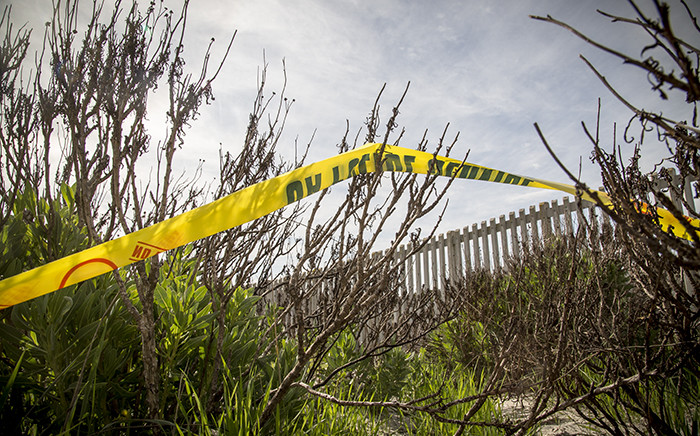 FILE: A police crime scene. Picture: Thomas Holder/EWN