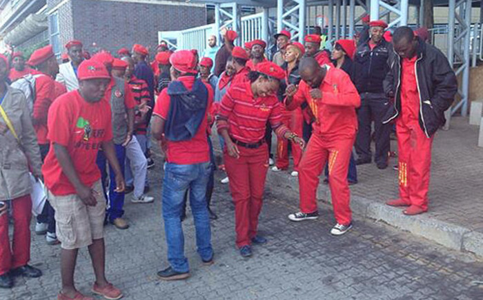 FILE: 20 EFF MPs have been served with formal notices to appear before Parliament's Powers and Privileges Committee.