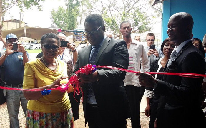 Gauteng Education MEC Panyaza Lesufi launched the province's first dedicated school for autistic pupils on 18 January 2016. Picture: @EducationGP via Twitter.