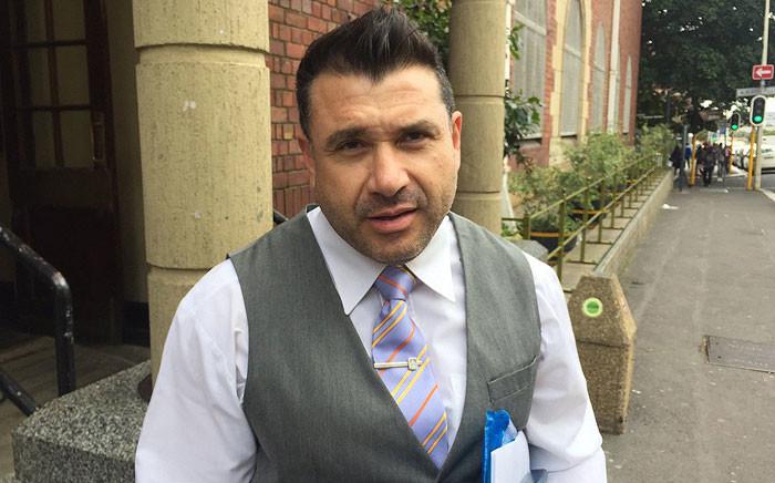 Democratic Alliance Member of Parliament Manny de Freitas. Picture: Xolani Koyana/EWN.